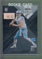 2017 PANINI ELITE #112 MITCH TRUBISKY RC UNC BEARS ROOKIE CARD B