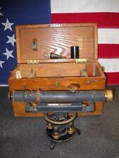 Vintage Original Dietzgen 24681 Surveying Transit in Wooden Carrying Case