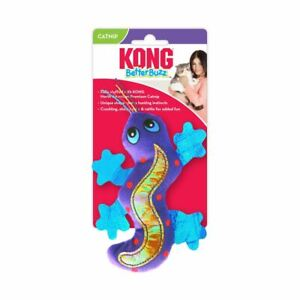 Kong Better Buzz Gecko Cat/kitten  toy