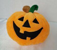 "Ty Pluffies Plumpkin Halloween Orange Pumpkin 4.5"" Small 2004 Safe for Baby"