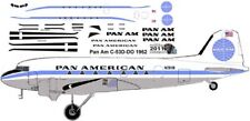 Pan American Douglas DC-3 C-47 airliner decals for Minicraft 1/144 kits