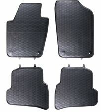 CUSCINETTO In Gomma Tappetino Vasca per VW VOLKSWAGEN POLO Comfortline 6 AW posteriore acciaio per h10