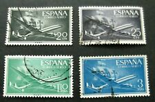 Spain-1956-Plane issues-Used