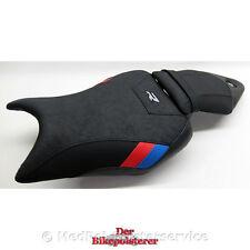 BMW S 1000 R - Komfort-Sitzbank: Gel, Ziernaht, Einlegestreifen, Stickerei, Gurt
