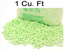 1 Cu Ft Flo Pak Green Polystyrene Packing Peanuts Chips Void Fill