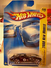 Hot Wheels Corvette Grand Sport 2008 New Models Black