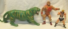 Power Punch HE-MAN and BATTLE CAT Figures Masters of the Universe MOTU