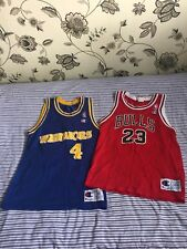 Chicago Bulls And Warriors Jersey