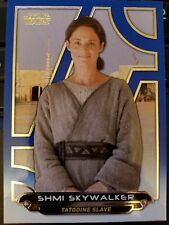 2017 Star Wars Galactic Files Reborn #TPM-9 Shmi Skywalker BLUE