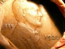 Estate Wheat penny 1915 D - 1933 lamination error on ends