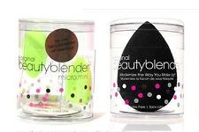 Beauty Blender Original Flawless Foundation Make Up Sponge 1 Black +2 Mini Green