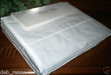 New Sferra Italy 630TC Luxury Sheet Set 100% Egyptian Cotton Queen Solid White