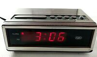 Vintage Tozaj/Tozai Model No.1585 Electronic LED Alarm Clock Retro Style