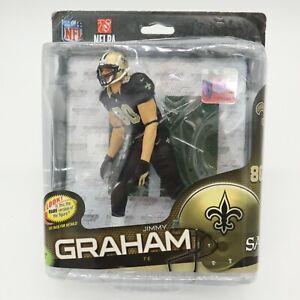 New McFarlane NFL 34 JIMMY GRAHAM New Orleans Saints Action Figure