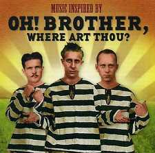 MUSIC INSPIRED BY OH! BROTHER, WHERE ART THOU? - BURL IVES - 2 CDS - NEW!!