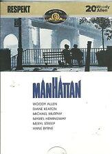 Manhattan DVD Woody Allen 1979 region 2 European import new