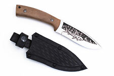 RUSSIAN Hunting Camping Knife Akula by KIZLYAR Stainless AUS-8 Walnut handle