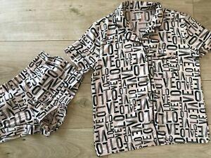 VICTORIA'S SECRET Pyjamas SHORTS SET (XS-S)