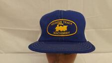 Vtg Modern Track Machinery Railroad Equipment Snapback Hat/Cap UNWORN