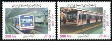 2001 MNH 2v, Theran Metro, Train, Railways
