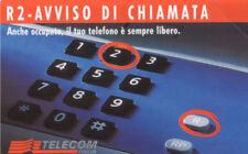 G 406 C&C 2444 SCHEDA TELEFONICA NUOVA SMAGNETIZZATA R2 5 TEC