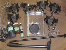 Fox Trapping Package duke #2 coil spring kit Fox Coyote Raccoon New sale