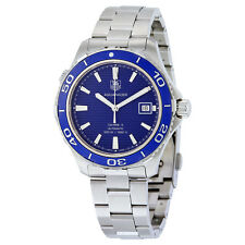 Tag Heuer Aquaracer Calibre 5 Stainless Steel Mens Watch WAK2111.BA0830