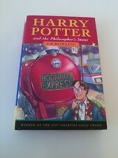 Harry Potter and The Philosopher's Stone First Edition Fourth Printing 1st/4th