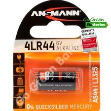 1 x Ansmann 4LR44 6V Alkaline High Performance Battery 476A PX28A A544 3131