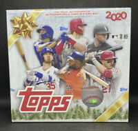 2020 Topps Holiday Box Sealed MLB Baseball - Relic and Auto - In Hand! SEALED!