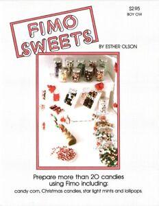 Dollhouse Miniature FIMO Sweets Instructional Book BOY014