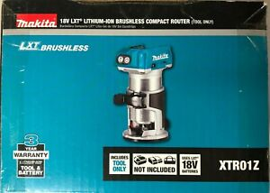 Makita XTR01Z 18 volt LXT Brushless Compact Router (bare tool) 2 DAY SHIPPING
