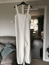 Cream Jumpsuit From Asos Size 12 Brand New With Tags