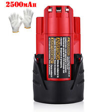 12V 2500mAh for Milwaukee M12 48-11-2401 12 Volt RED Lithium-Ion Battery Pack US