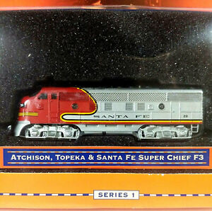 1998 Lionel Atchison, Topeka and Santa Fe Super Chief F3 Series 1 / 1:120 Sc C9