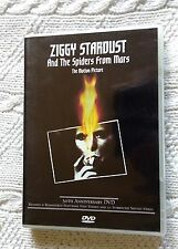 ZIGGY STARDUST AND THE SPIDERS FROM MARS (DVD) R-4 LIKE NEW, FREE POST  AUS-WIDE