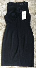 ST JOHN Caviar Shimmer Dress (Brand new with labels) RRP £1146. Size US 6