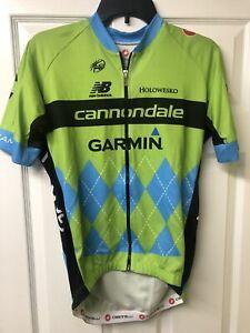 Castelli Garmin Cannondale 2.0 Training Jersey Men's Cycling Extra Large Tdf Ed.