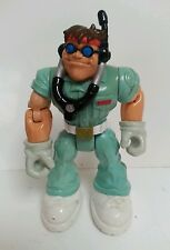 "RESCUE HEROES - 6"" Action Figure Mattel Fisher Price 1998 Collectible Retro Toy"
