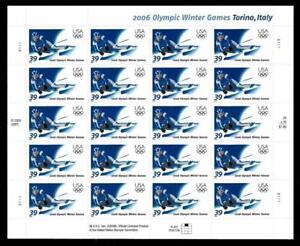 1¢ WONDER'S ~ MNH SOUVENIR SHEET W/ 39¢ OLYMPIC'S TORONTO, ITALY (FV=$7.80) ~S34