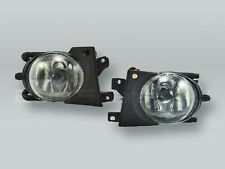 Fog Lights Driving Lamps Assy with bulbs PAIR fits 2001-2003 BMW 5-Series E39