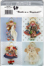 "UNCUT Butterick Dollmaking Pattern 3974 ""Wall hangings-An Angel for All Occasion"