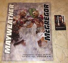 Floyd Mayweather vs Conor McGregor Programme & Room Key Card!