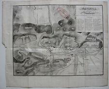 Gerona Umgebung alrededores Catalunya Spanien Espana Orig Lithografie 1840