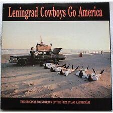 Leningrad Cowboys Go America - AKI KAURISMAKI LP VINYL OST 1990 NM / VG+ COND