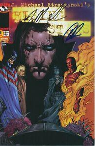 RISING STARS #1 SIGNED BY J. MICHAEL STRACZYNSKI IMAGE COMICS 1999 EB204