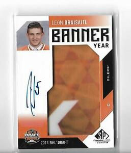 2016-17 SP Game Used Banner Year Draft '14 Autographs #BD14LD Leon Draisaitl C