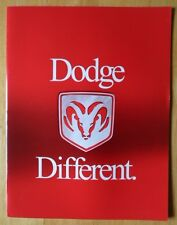 DODGE Range 2000 USA Mkt brochure - Viper Intrepid Durango Ram Stratus Avenger