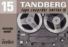 TANDBERG TAPE RECORDER AND OTHER MANUALS ON CD-R