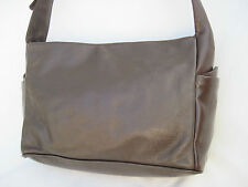 -AUTHENTIQUE sac à main  HENRY SAXEL cuir  TBEG vintage bag A4